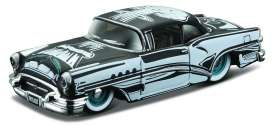 Maisto - Buick  - mai15494-08015 : 1955 Buick Century Outlaws, black/white