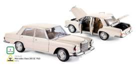 Mercedes  - 1969 ivory - 1:18 - Norev - nor183569 | The Diecast Company