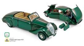 Peugeot  - 1937 dark green - 1:18 - Norev - 184871 - nor184871 | The Diecast Company