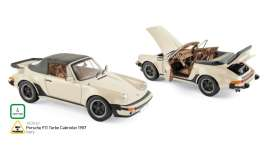 Porsche  - 1987 ivory - 1:18 - Norev - nor187661 | The Diecast Company