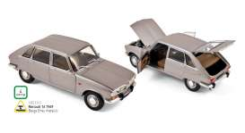 Norev - Renault  - nor185133 : 1968 Renault 16, grey metallic