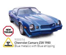 Norev - Chevrolet  - nor900016 : 1980 Chevrolet Camaro Z28, blue metallic