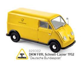 DKW  - yellow - 1:43 - Norev - nor820302 | The Diecast Company