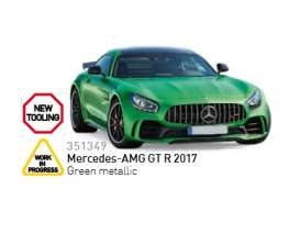 Mercedes Benz  - 2017 green metallic - 1:43 - Norev - nor351349 | The Diecast Company
