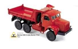 Berliet  - 1958 red - 1:43 - Norev - nor690012 | The Diecast Company