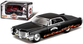 Cadillac  - 1965 black/orange - 1:64 - Maisto - mai11380-05209 | The Diecast Company