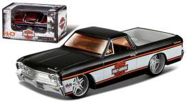 Chevrolet  - 1967 black/white - 1:64 - Maisto - 11380-05032 - mai11380-05032 | The Diecast Company