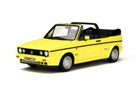 Volkswagen  - 1989 yellow - 1:18 - OttOmobile Miniatures - otto693 | The Diecast Company