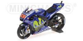 Yamaha  - YZR-M1 2017 blue - 1:12 - Minichamps - 122173025 - mc122173025 | The Diecast Company