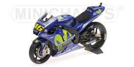 Yamaha  - YZR-M1 2017 blue - 1:12 - Minichamps - 122173046 - mc122173046 | The Diecast Company