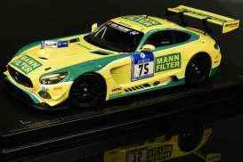 Mercedes Benz AMG - AMG GT3 #75 2016 yellow/green - 1:18 - Paragon - 88019 - para88019 | The Diecast Company