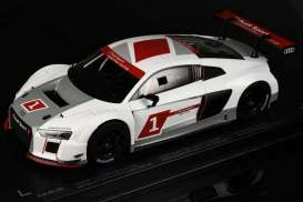 Audi  - R8 LMS Presentation Car white/silver - 1:18 - Paragon - para88101 | The Diecast Company