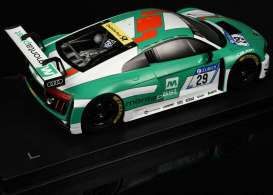 Audi  - R8 LMS #29 2016 white/green - 1:18 - Paragon - 88110 - para88110 | The Diecast Company