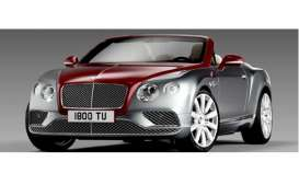 Bentley  - 2016 red/silver - 1:18 - Paragon - 98234L - para98234L | The Diecast Company