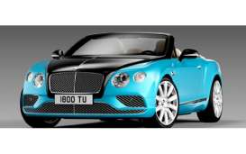 Bentley  - 2016 onyx/blue - 1:18 - Paragon - para98235R | The Diecast Company