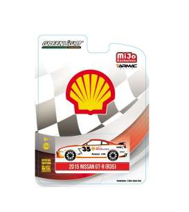 GreenLight - Nissan  - gl51085 : 2015 Nissan GT-R R35 *Shell* #35, white/red/yellow