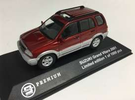 Triple9 Premium - Suzuki  - T9P10031 : 2001 Suzuki Grand Vitara, red/grey