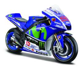 Yamaha  - 2015 blue/green - 1:10 - Maisto - mai31407L | The Diecast Company