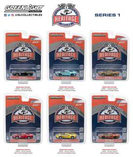 Ford Assortment/ Mix - GT 2017 various - 1:64 - GreenLight - gl13200 | The Diecast Company
