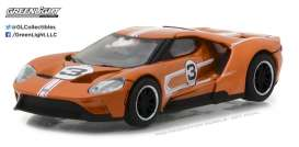 GreenLight - Ford  - gl13200F : 2017 Ford GT 1967 #3 Mario Andretti Ford GT40 Mk. IV Tribute *Ford GT Racing Heritage Series 1*