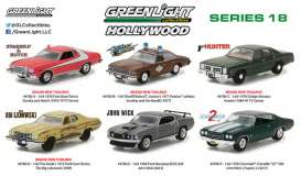 GreenLight - Assortment/ Mix  - gl44780~12 : 1/64 Hollywood series 18, assortment of 12.