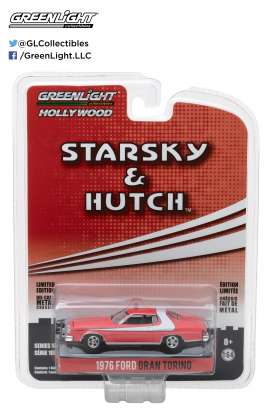 GreenLight - Ford  - gl44780A : 1976 Ford Gran Torino *Starsky and Hutch TV Series 1975-79* Hollywood series 18