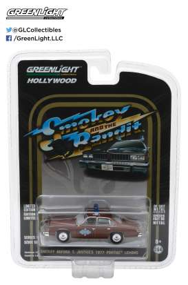 GreenLight - Pontiac  - gl44780B : 1977 Sheriff Buford T. Justice