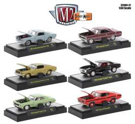 M2 Machines - Assortment/ Mix  - M2-32600-37~6 : 1/64 Detroit-Muscle Release 37, assortment of 6.