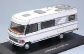 Hymer  - 1981 white/grey - 1:43 - IXO Models - ixCAC004 | The Diecast Company