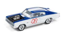 Dodge  - 1966 blue/white - 1:64 - Johnny Lightning - SF002A1 - JLSF002A1 | The Diecast Company