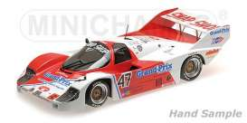 Porsche  - 1983 red/white - 1:18 - Minichamps - 155836647 - mc155836647 | The Diecast Company