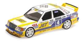 Mercedes Benz  - 1989 white/yellow - 1:18 - Minichamps - 155893604 - mc155893604 | The Diecast Company