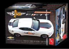 AMT - Chevrolet  - amts1059 : 2017 Chevrolet Camaro FIFTY Pace Car, plastic modelkit