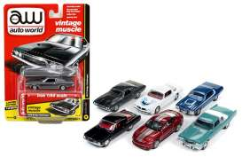 Assortment/ Mix  - various - 1:64 - Auto World - 64112A - AW64112A | The Diecast Company