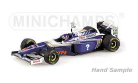 Williams Renault - 1997 blue/white - 1:18 - Minichamps - mc186970003 | The Diecast Company