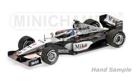 Minichamps - McLaren Mercedes - mc186990001 : 1999 McLaren Mercedes MP4/14 Mika Hakkinen World Champion, black/white