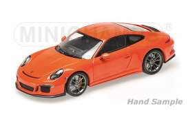 Porsche  - 2016 lava orange - 1:12 - Minichamps - 125066324 - mc125066324 | The Diecast Company