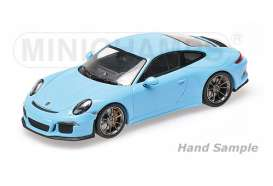 Porsche  - 2016 gulf blue - 1:12 - Minichamps - mc125066325 | The Diecast Company