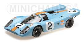 Porsche  - 1970 gulf blue/orange - 1:12 - Minichamps - 125706602 - mc125706602 | The Diecast Company