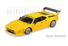 Minichamps - BMW  - mc125792900 : 1979 BMW M1 Plain Body Version, orange