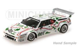 BMW  - 1980 white/green - 1:12 - Minichamps - mc125802901 | The Diecast Company