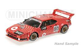 Minichamps - BMW  - mc125802980 : 1980 BMW M1 GS Tuning Hans-Joachim Stuck Procar Series, red/white