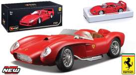Ferrari  - 1984 red - 1:18 - Bburago - bura16603R | The Diecast Company