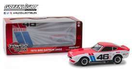Datsun  - 240Z BRE #46 1970 white/red - 1:24 - GreenLight - 18301 - gl18301 | The Diecast Company