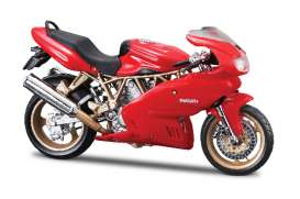 Bburago - Ducati  - bura51032 : Ducati Supersport 900, red