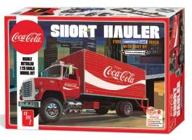 AMT - Ford  - amts1048 : 1970 Ford Louisville Short Hauler *Coca Cola*, plastic modelkit