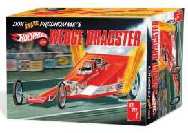 AMT - Dragster  - amts1049 : 1/25 Don Prudhomme Wedge Dragster Hot Wheels *Coca Cola*, plastic modelkit