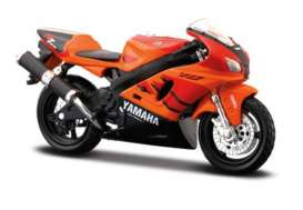 Yamaha  - YZF-R7 orange - 1:18 - Maisto - 344o - mai344o | The Diecast Company