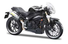 Bburago - Triumph  - bura51047bk : 2011 Triumph Speed Triple, black