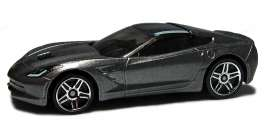 Bburago - Chevrolet  - bura30250gy : 2014 Chevrolet Corvette Stingray, grey metallic